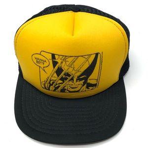 Vintage Marvel X Men Wolverine Snapback Hat